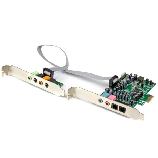Tarjeta de sonido PCI Express 7.1 canales 24bit 192 kHz