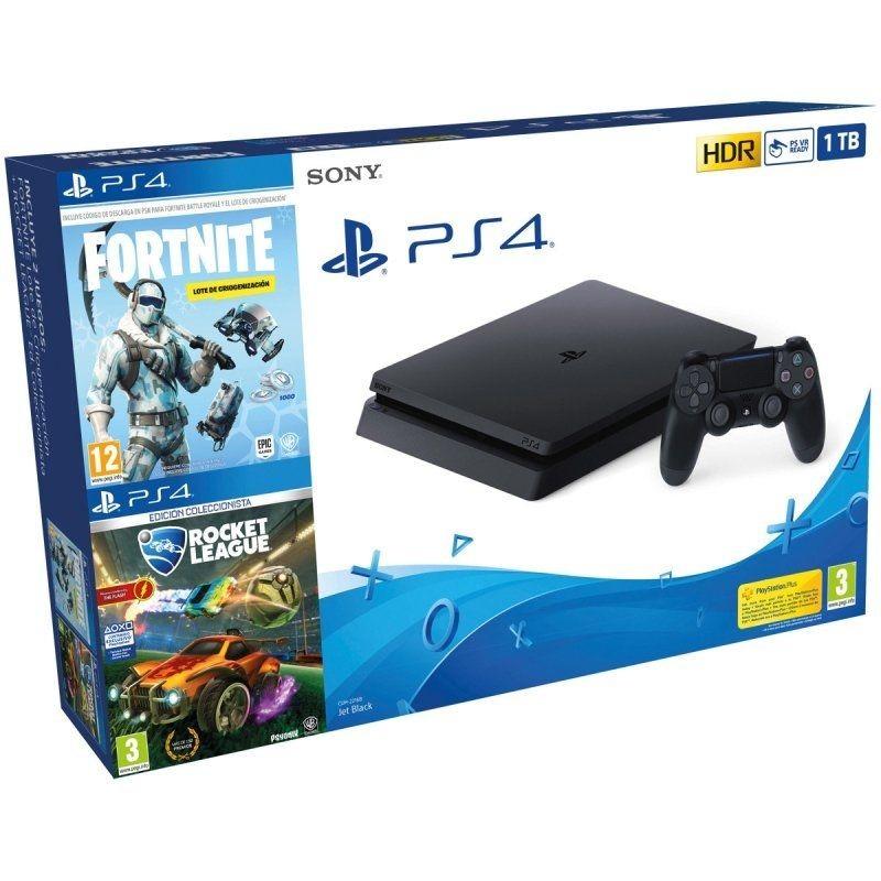 Sony PlayStation 4 Slim 1TB + Rocket League DC + Fortnite