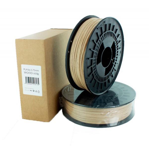 Filamento PLA Premium bq 600gr/1.75mm Madera
