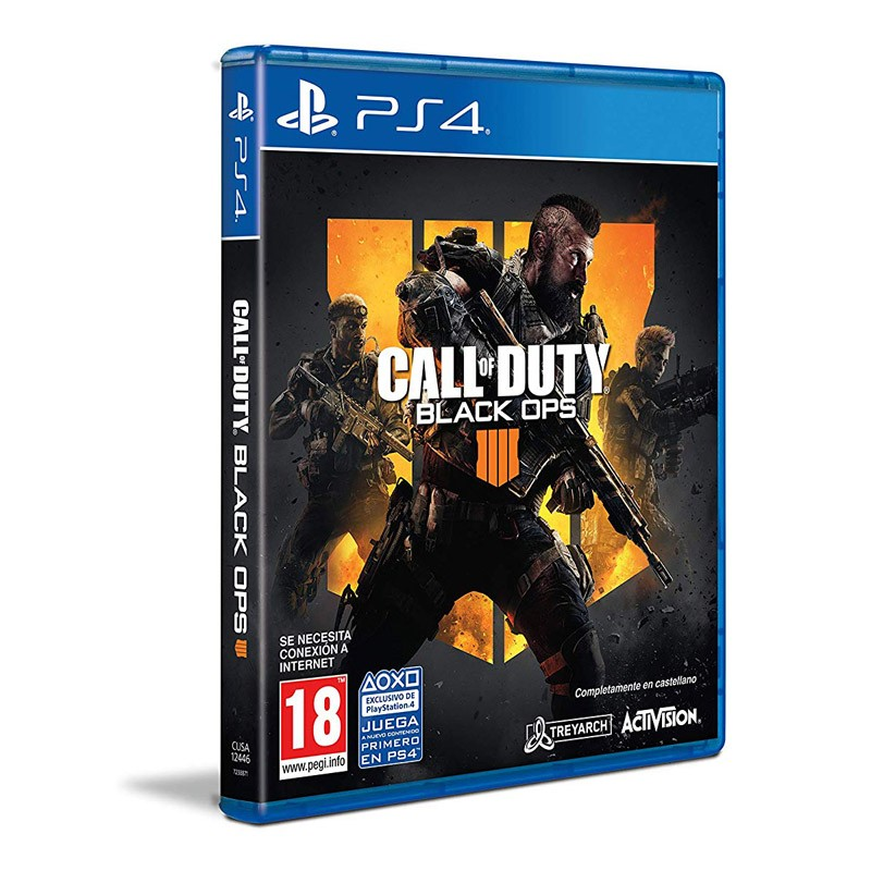 PS4 Juego Call Of Duty Black Ops IIII