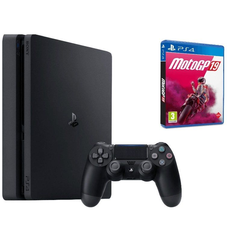 Sony PlayStation 4 Slim 1TB + Moto GP19