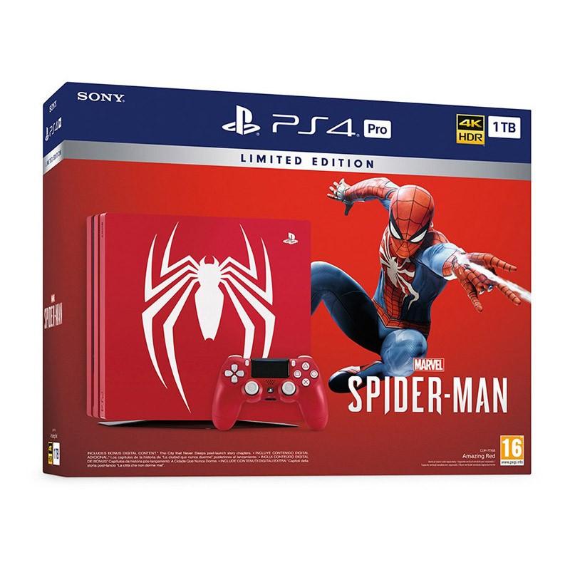 sony-playstation-4-pro-1tb-edicion-spider-man-marvel-s-spider-man