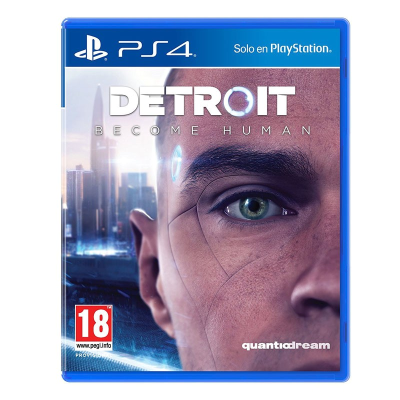 PS4 Juego Detroit Become Human