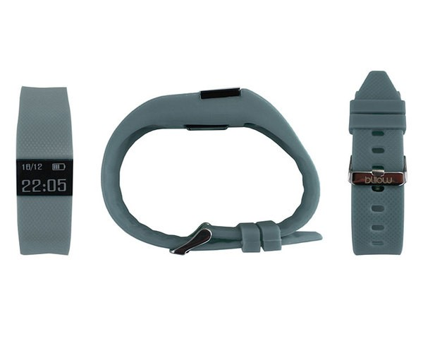 PULSERA SMART GREY + PULSOMETRO BILLOW