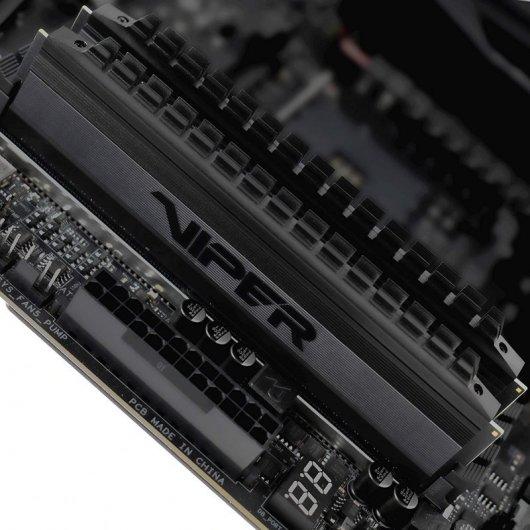 Memorias RAM Patriot Viper 4 Blackout DDR4 3200MHz PC4-24000 64GB (2x32GB) CL16