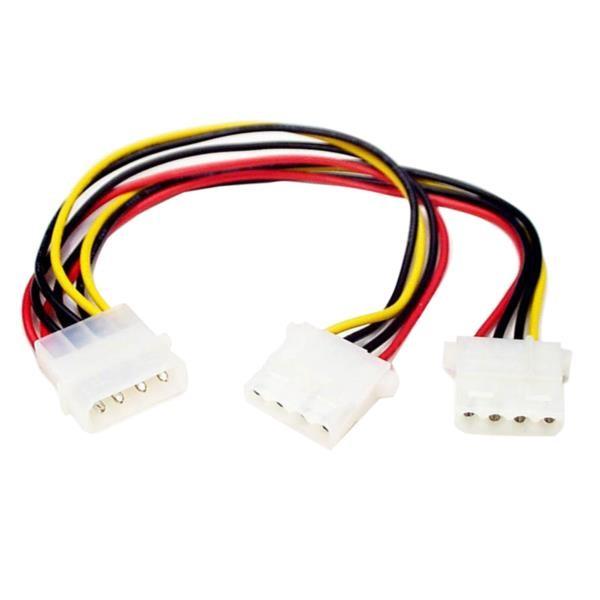 Cable Divisor de Alimentación Y LP4 a 2x LP4