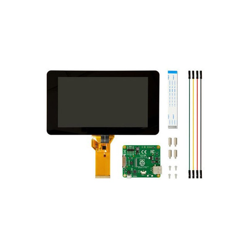 Pantalla Raspberry Pi 7 Touch Screen LCD