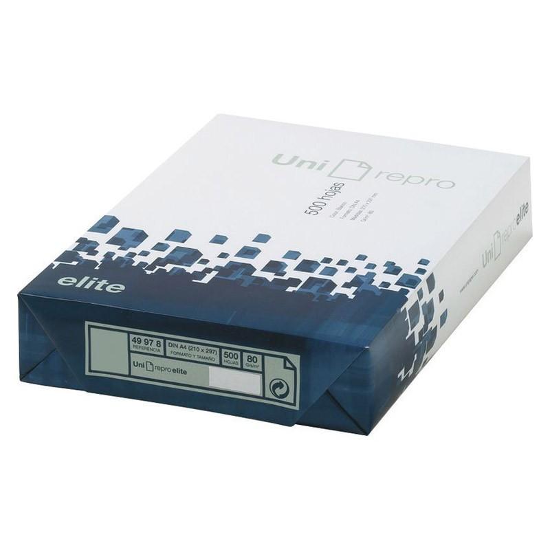 Papel Multifunción Uni-Repro Elite DIN-A4 80g/m2 500 pcs