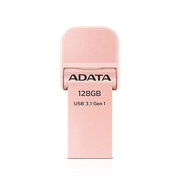 Pendrive 128GB Adata i-Memory AI920 USB 3.1 + Lightning Rose Gold
