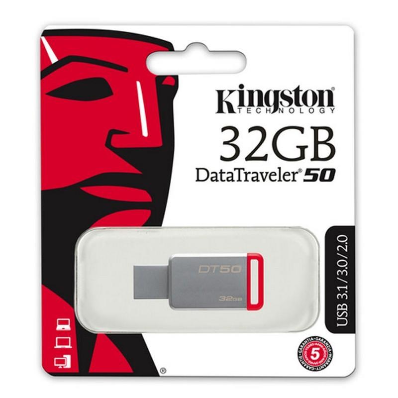 Pendrive 32GB Kingston DataTraveler 50 USB 3.0