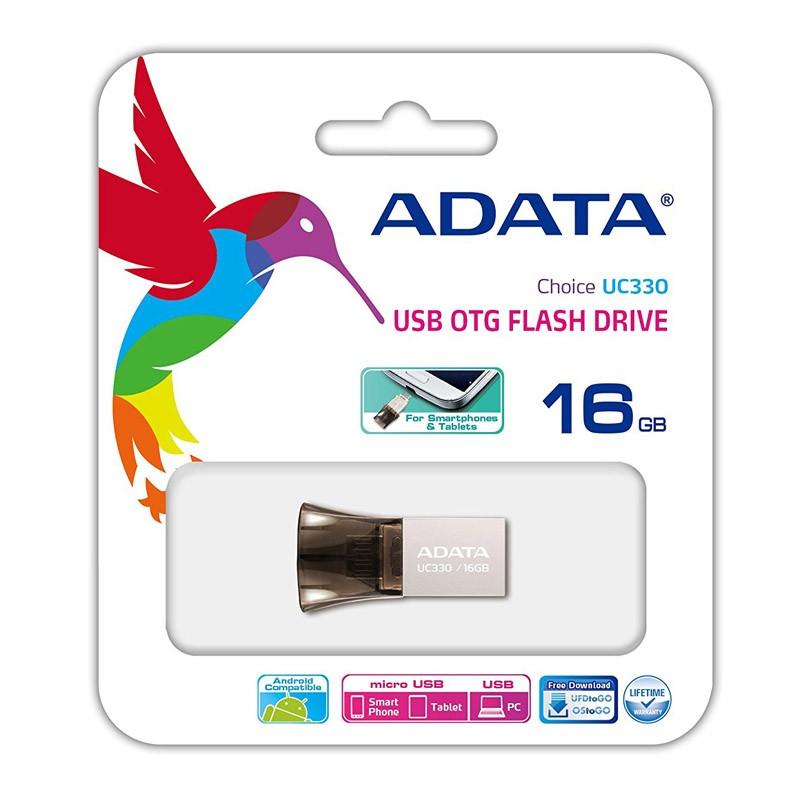Pendrive 16GB Adata Choice UC330 con Micro USB