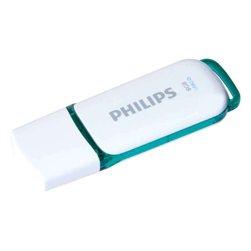 pendrive-8gb-philips-snow-verde
