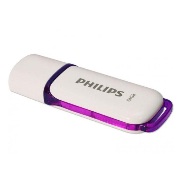 Pendrive 64GB Philips Snow