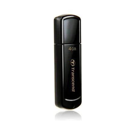 Pendrive 4GB Transcend Jetflash 350 Negro
