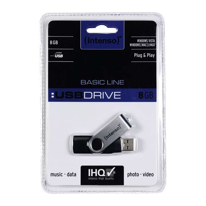 Pendrive 8GB Intenso Basic Line