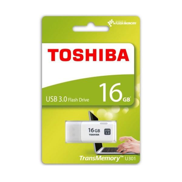Pendrive 16GB Toshiba Hayabusa Blanco USB 3.0