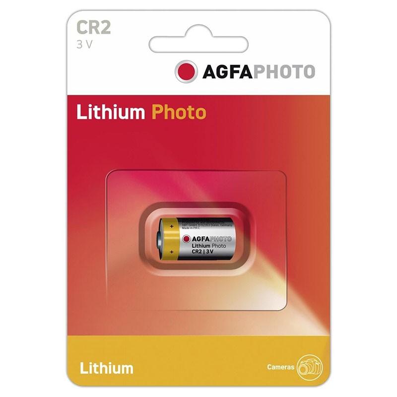 Pila de Litio 3V Agfaphoto (CR2)