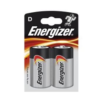 Pila Alcalina D Energizer Pack 2 uds (LR20)