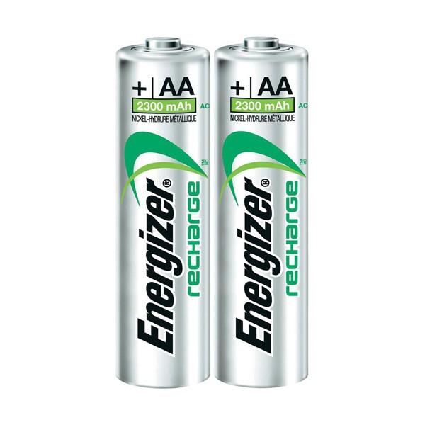 Pilas Recargables AA 2300mAh Energizer