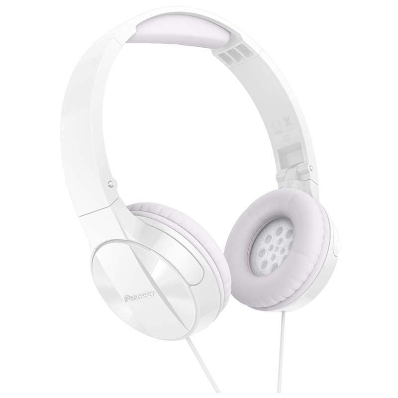Auriculares con Micrófono Pioneer SE-MJ503T Blanco