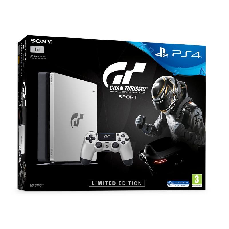 Sony PlayStation 4 Slim 1TB Edición Limitada + Gran Turismo Sport