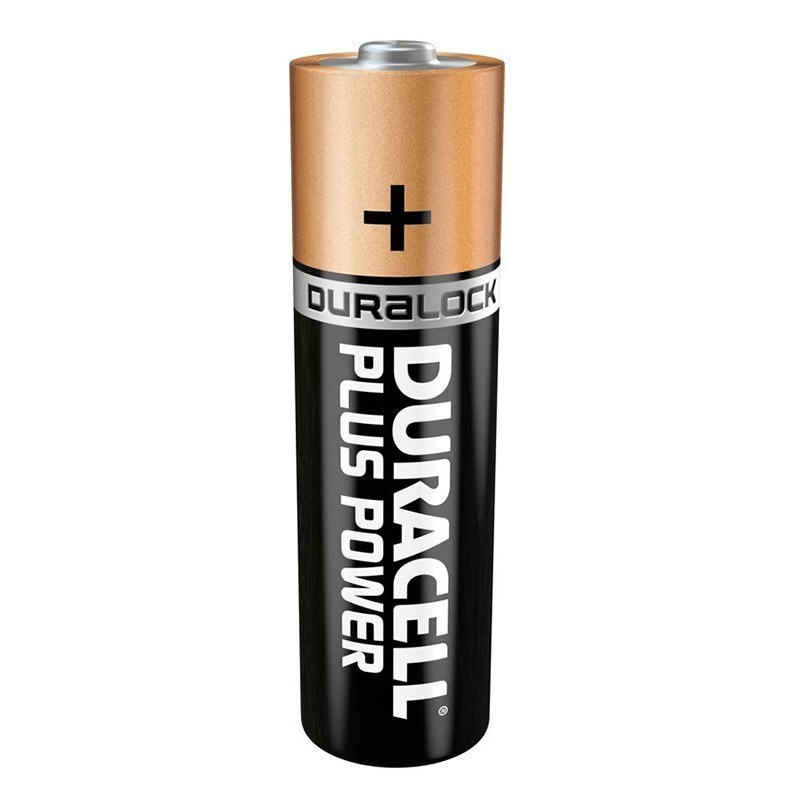 Pila Alcalina AAA Duracell Plus Power MN2400B4 Pack 4uni
