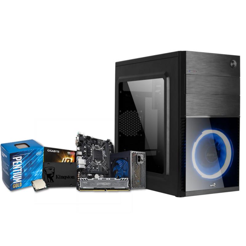 PC Portal Blue Pentium Gold G5400 8GB DDR4 240GB SSD