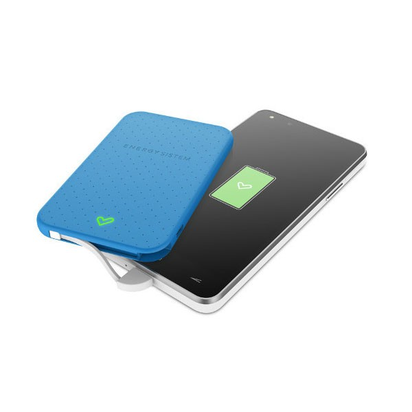 Batería Portable Power Bank 2500mAH Energy Extra Battery 2500 Azul
