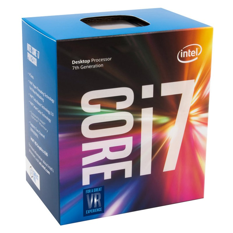 Procesador Intel Core i7-7700 3.6GHz 8MB Box