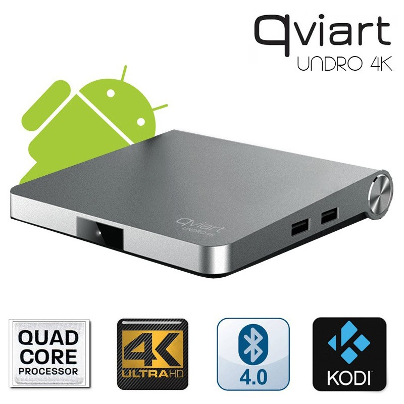 Receptor Satélite Qviart Undro 4K WiFi Android 6.0