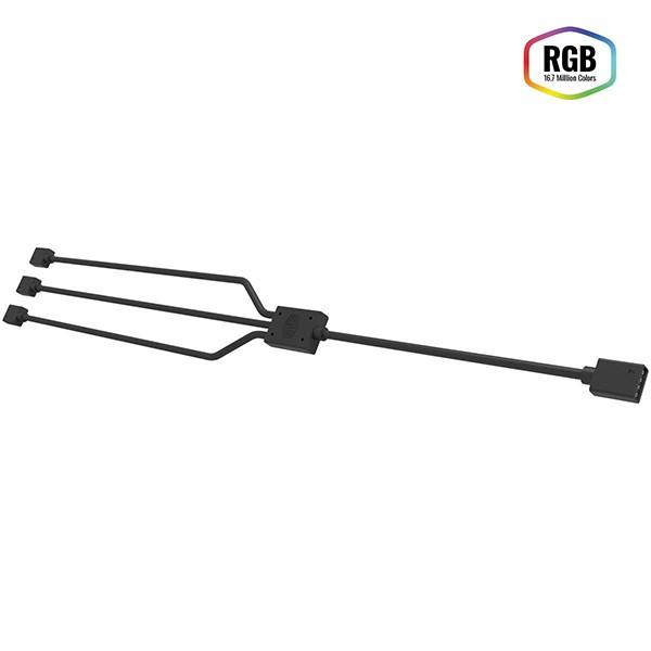Cable Splitter RGB de 1 a 3 de 4 Pines Cooler Master R4-ACCY-RGBS-R2
