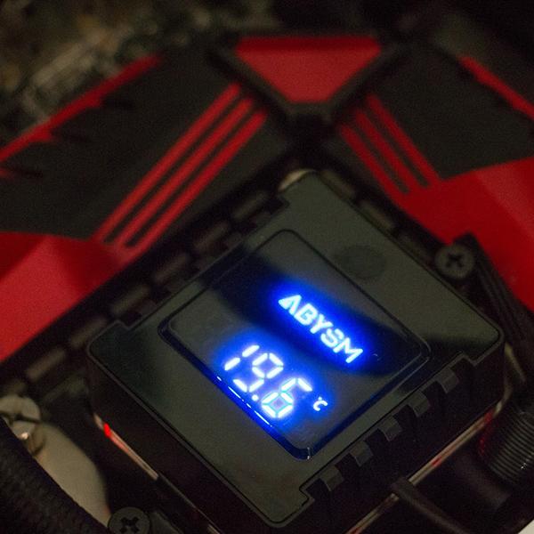 Refrigeración Líquida Abysm Atlantico Con Display 120mm