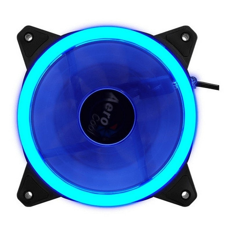Ventilador PC Aerocool Rev Blue Dual Ring 120mm Azul