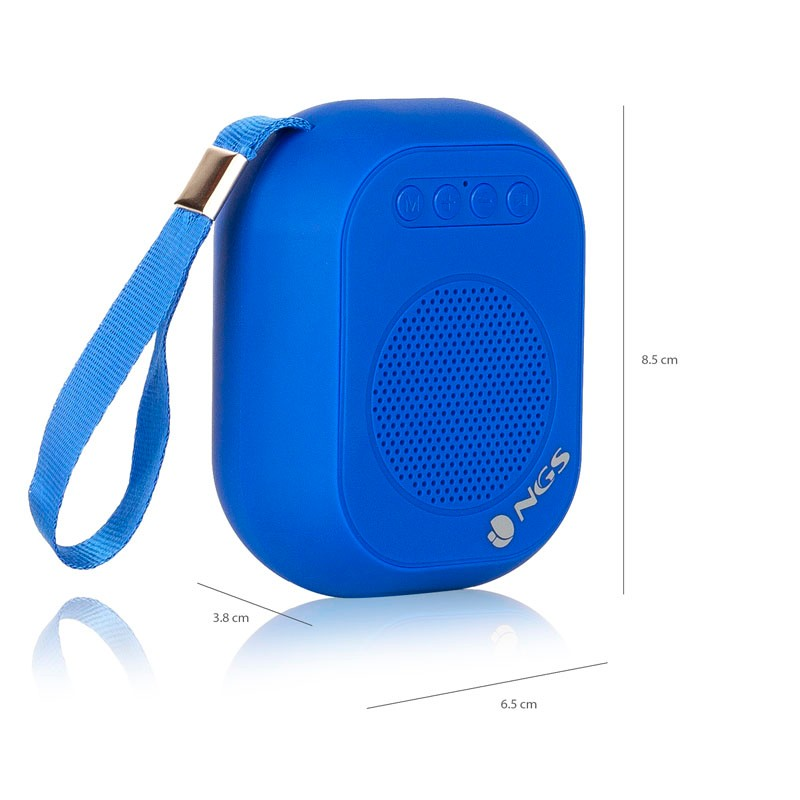 Altavoz Bluetooth NGS Roller Dice Blue