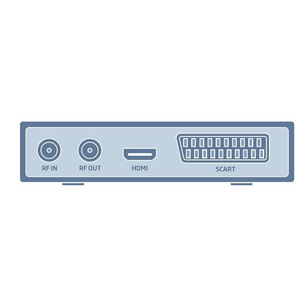 Receptor TDT-2 HD Engel DVB-T2 RT6100T2 USB y Funcion OCA