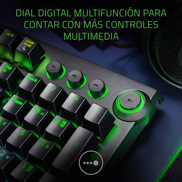 Teclado Mecánico Razer BlackWidow Elite - Green Switch
