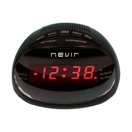 Radio Reloj Despertador Nevir NVR-333