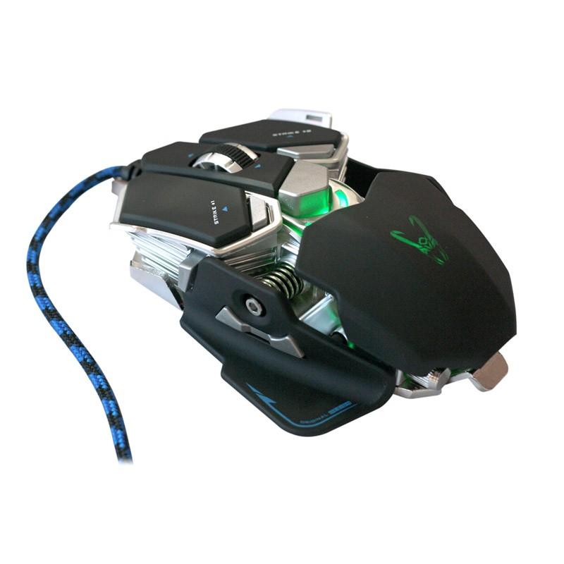 Ratón Óptico USB Gaming Woxter Stinger GX250 M 2000DPI Negro