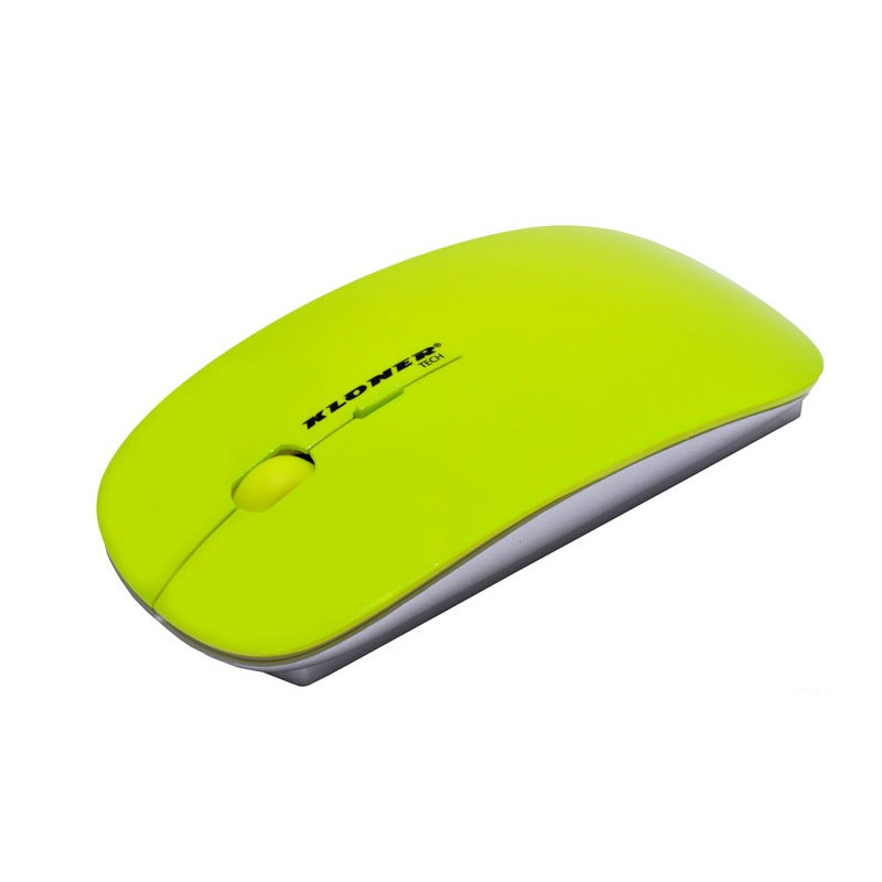 raton-inalambrico-kloner-slim-verde-fluorescente-krw201