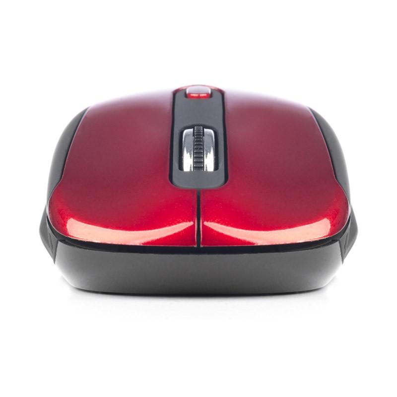 Ratón Óptico Inalámbrico NGS Haze Red 1600dpi