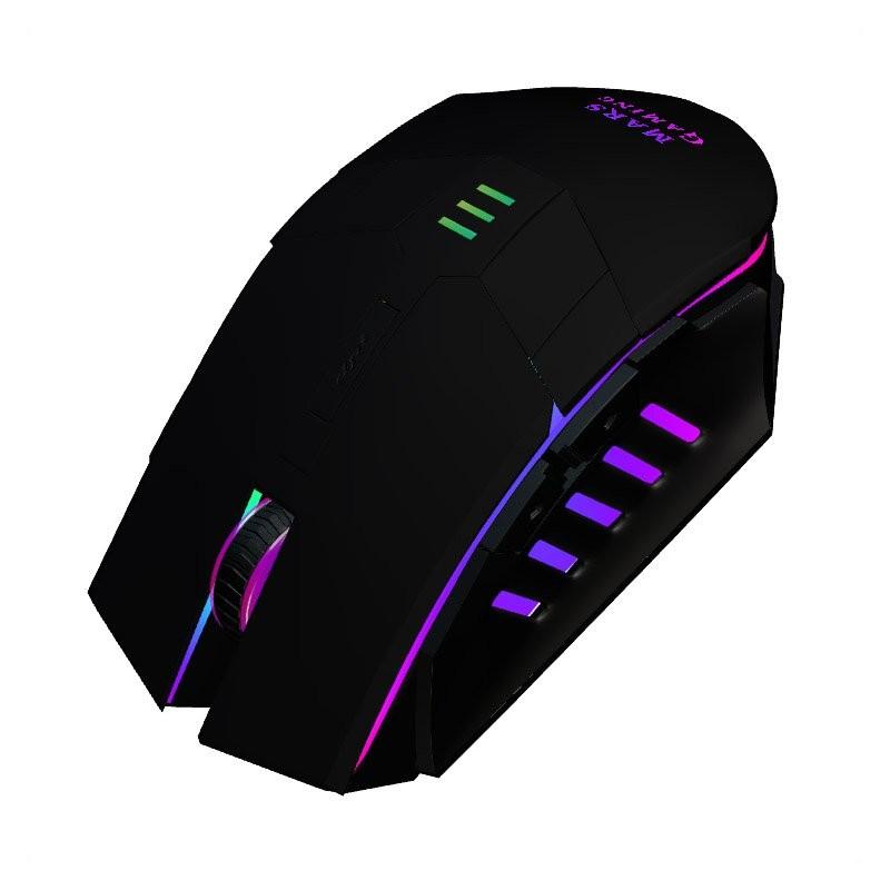 Ratón Óptico USB Mars Gaming MM116 3200DPI