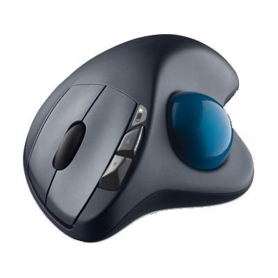 Raton Optico Inalambrico Logitech Wireless Trackball M570