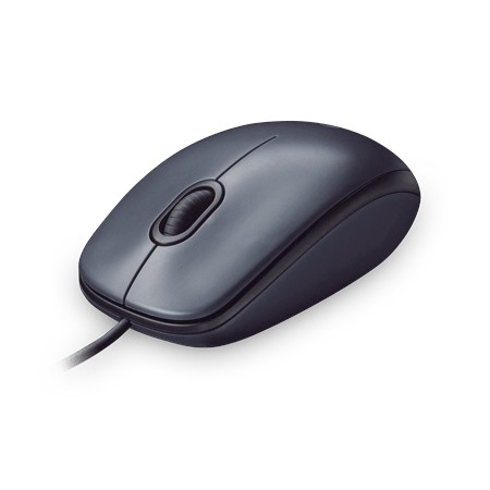 Raton Optico USB Logitech Mouse M100 1000 DPI