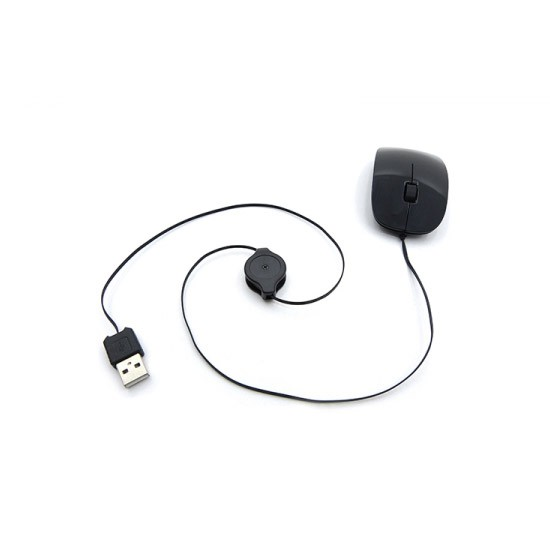 Raton Optico USB Retractil Tacens Anima AM2