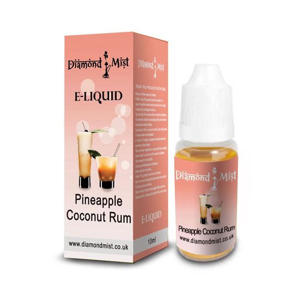 E-Liquid Diamond Mist Piña Colada 18mg Nicotina (10ml)