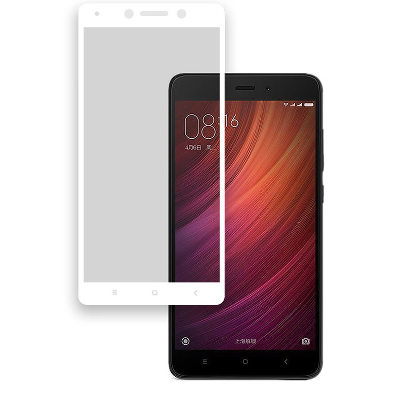 Xiaomi Redmi Note 4X Nano Protector Cristal Templado Blanco