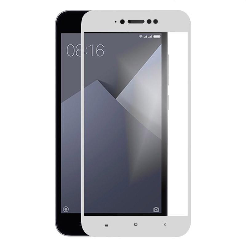 Xiaomi Redmi Note 5A Nano Protector Cristal Templado Blanco