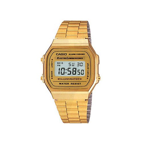 Reloj Digital CASIO COLLECTION DORADO A168WG-9WDF