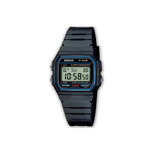 Reloj Digital CASIO DIGITAL F-91W-1SDG