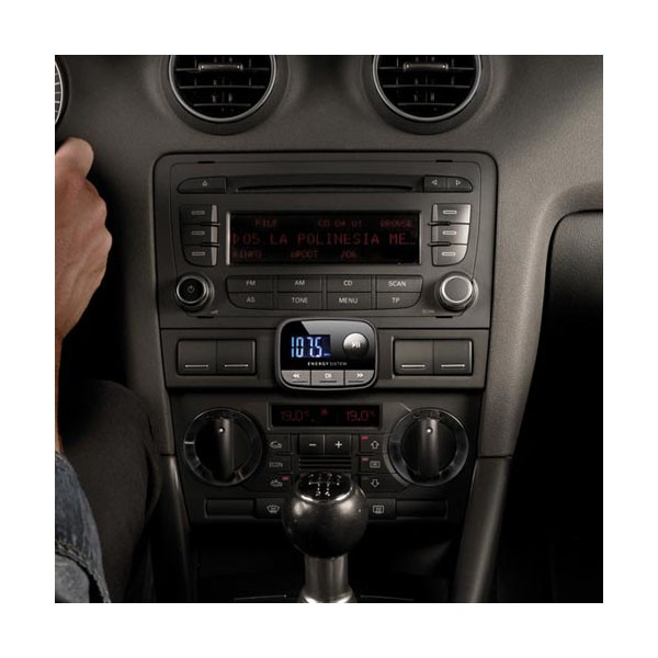 Reproductor MP3 para Coche Energy Car MP3 F2 Black Knight